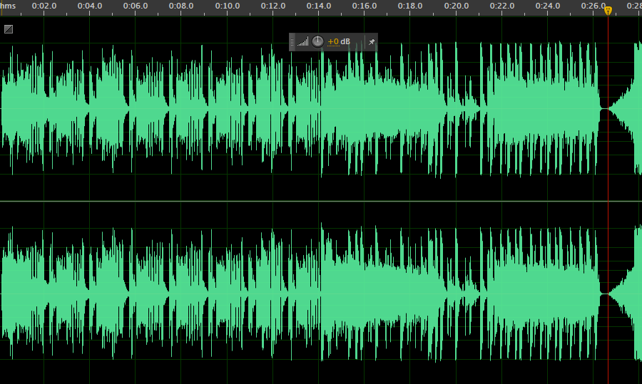 Spectral Image of the song. 0:00 to 0:26