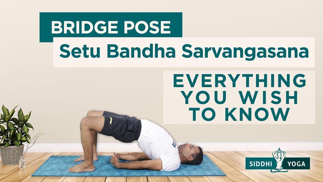 Setu Bandha Sarvangasana Bridge Pose Benefits How to do