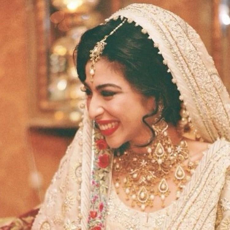 Meesha Shafi Real Bride