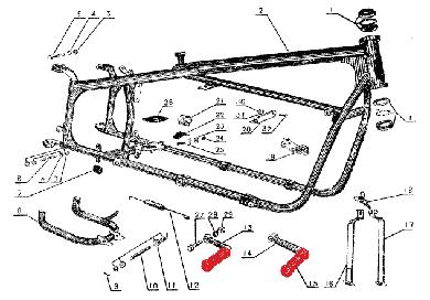 Motorcycle Sidecar Parts. Diagram. Auto Wiring Diagram