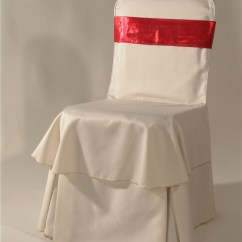 Christmas Chair Covers White For Folding Chairs Rentals Factory Wholesale Polyester Cheap Banquet Parties Decorations
