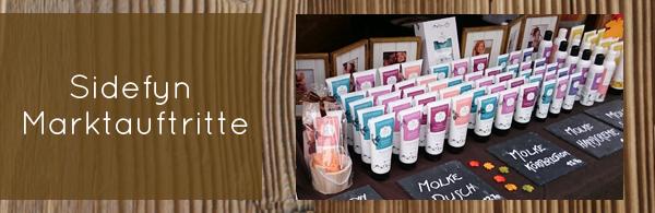 Sidefyn Cosmetics Marktauftritte