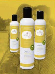 Molke-Dusch Erfrischender Sommertraum in der Flasche von Sidefyn Cosmetics