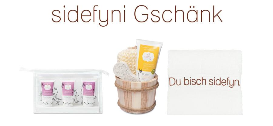 Sidefyni Geschenke - Sidefyn Cosmetics