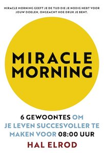 boek Miracle Morning Hal Elrod