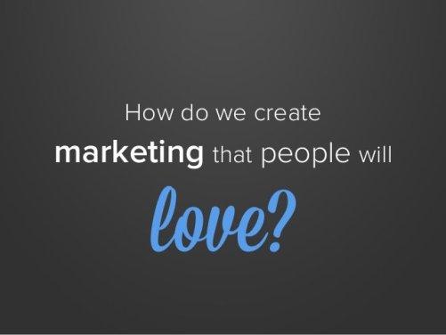 inbound marketing a love story.