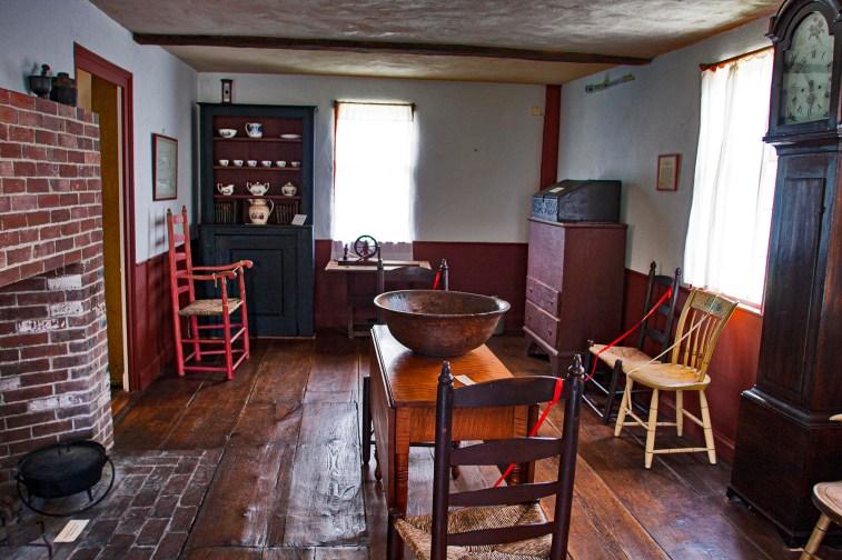 Fruitlands Alcott home