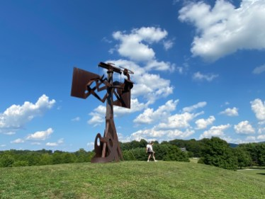 Frog Legs by Mark di Suvero, South Fields