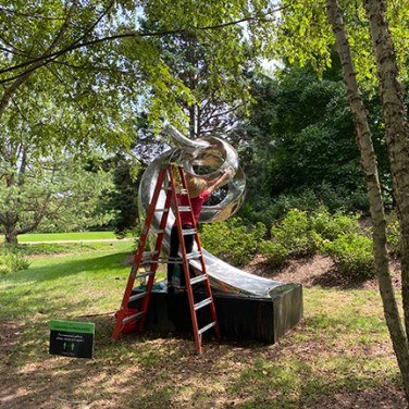 Grounds for Sculpture cleaning