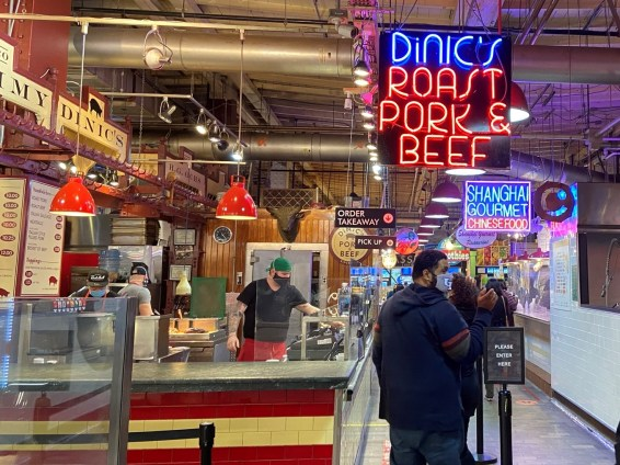 Every visit to Philadelphia should include a stop at Reading Terminal Market for a snack or a hearty meal, or to pick up Pennsylvania Dutch or other treats to go.