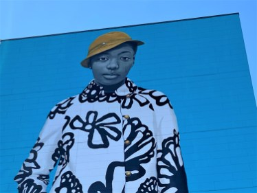 Philadelphians fell in love with Amy Sherald's towering Untitled mural when it was completed in 2019.