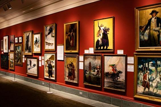 A gallery of illustrative art