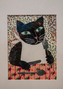 Cat from Just for Laughs exhibit, Eric Carle
