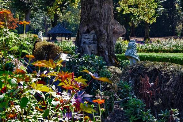 Four Borders Garden