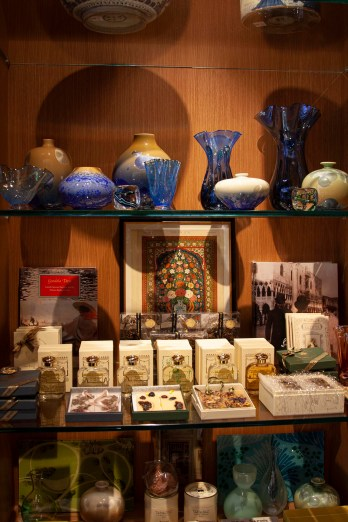 Gift shop at the Isabella Stewart Gardner Museum