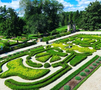 Parterre from Terrace, image credit: Nemours