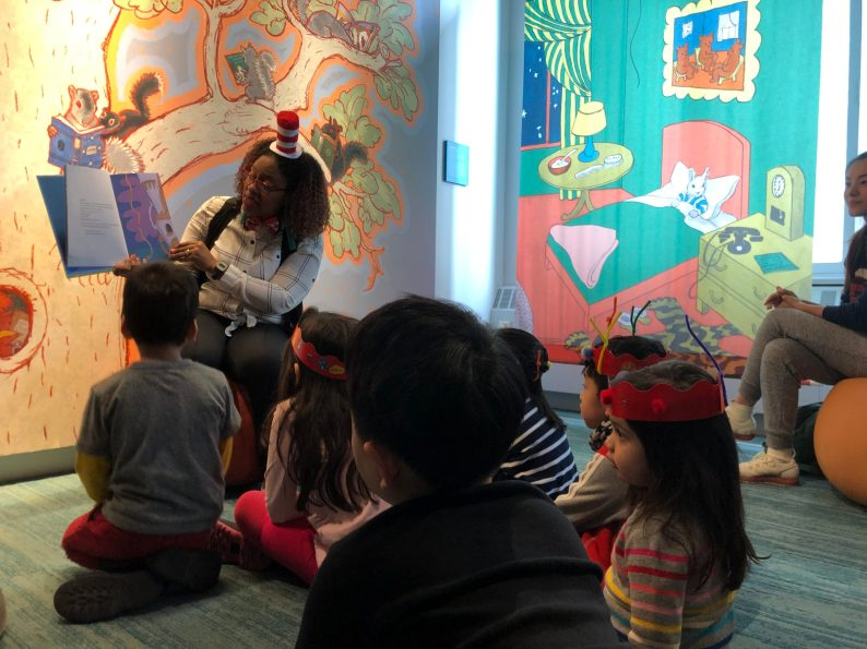 Children can discover the joy of books in the Children's Literature Gallery. Credit: American Writers Museum