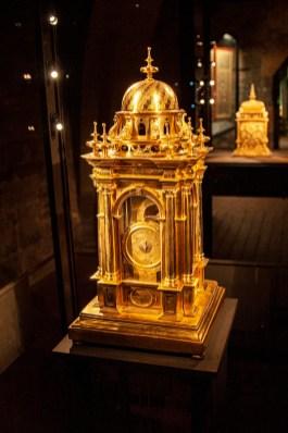 Ornate Renaissance Clock. Landesmuseum Stuttgart
