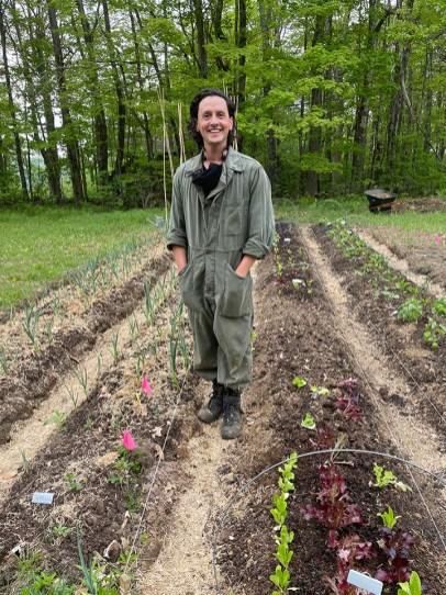 Adam Weinert in the Garden