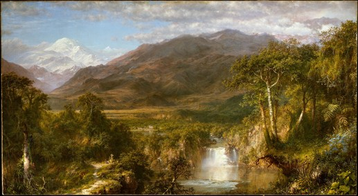 A huge hit when it was exhibited, Heart of the Andes (1859; now in the Metropolitan Museum of Art) was based on sketches from the nine weeks that Church traveled in Ecuador. The Metropolitan Museum of Art, New York, bequest of Margaret E. Dows, 1909