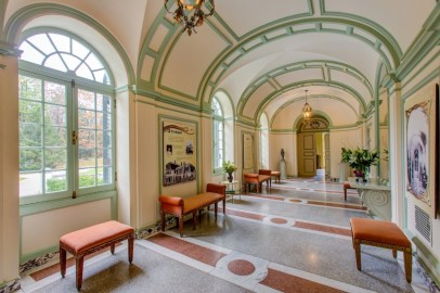 The light-filled Gallery, used to display objects, provides access to The Mount's Drawing Room and other areas. Photo by Eric Limon Photography, courtesy of The Mount