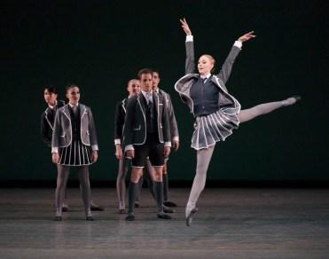 Teresa Reichlen in Clearing Dawn Choreography by Troy Schumacher Fall Gala 2014 New York City Ballet Credit Photo: Paul Kolnik