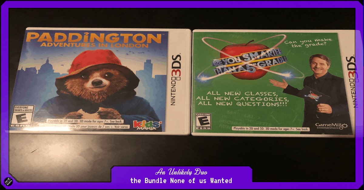 An Unlikely Duo – the Bundle None of us Wanted