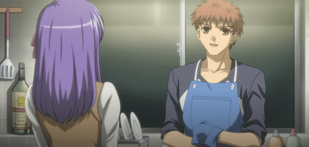 Shirou being man of the year