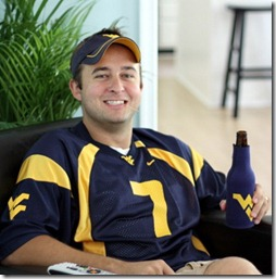 the husband, wvu fan
