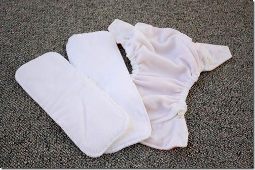 hybrid diaper inserts