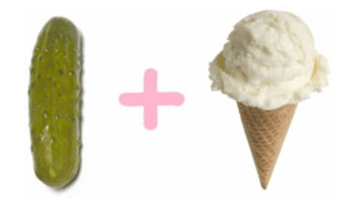 pickles and ice cream pregnancy cravings