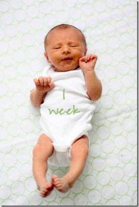 1 week old baby