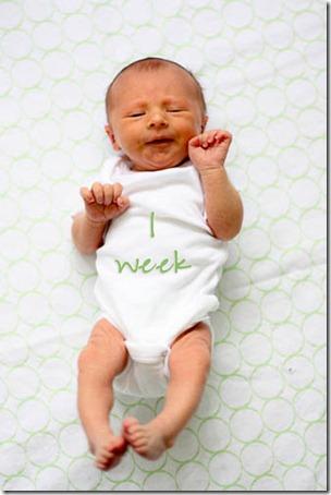 baby 1 week