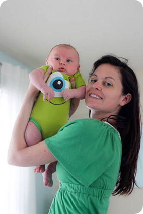 monster inc baby and mom