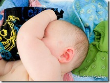 chubby baby arm