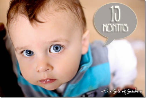 15 months baby