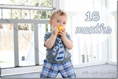16 months baby