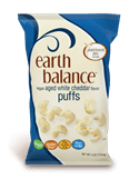 earth balance vegan cheddar puffs