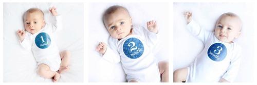 first three months baby