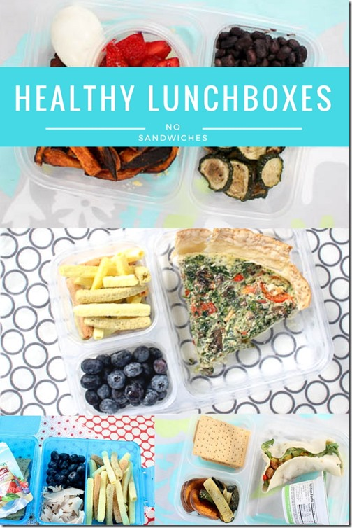 10 healthy lunch box ideas for kids
