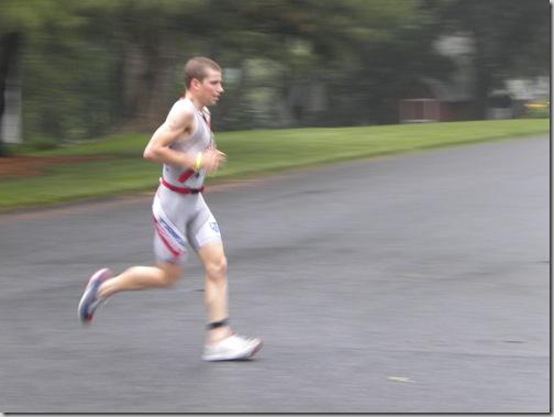 first runner
