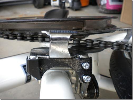 front adjustment screws