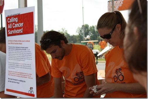 bike race volunteers