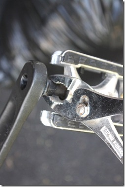 remove pedal