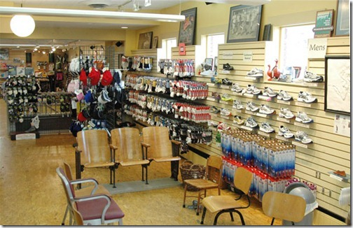 running store shoes