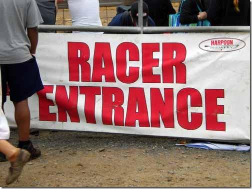 race entrance