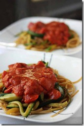 whole wheat pasta zucchini recipe