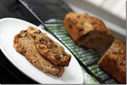 recipe for chocolate chip vegan banana bread