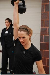 kettlebell snatch demonstration