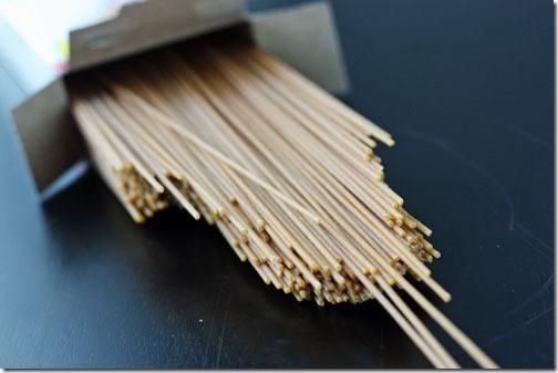 whole wheat angel hair pasta recipe